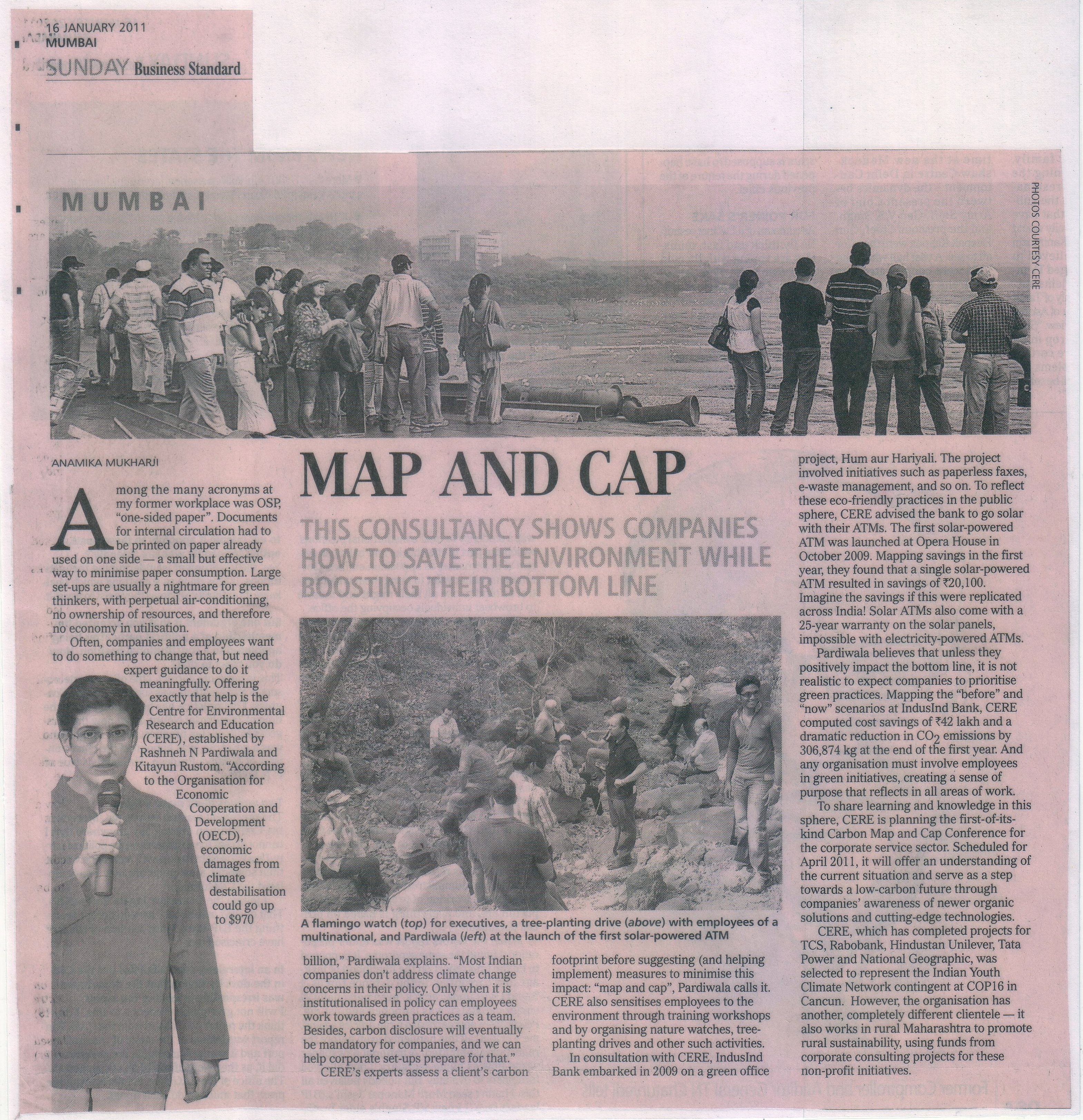 Business Standard - 16th January, 2011