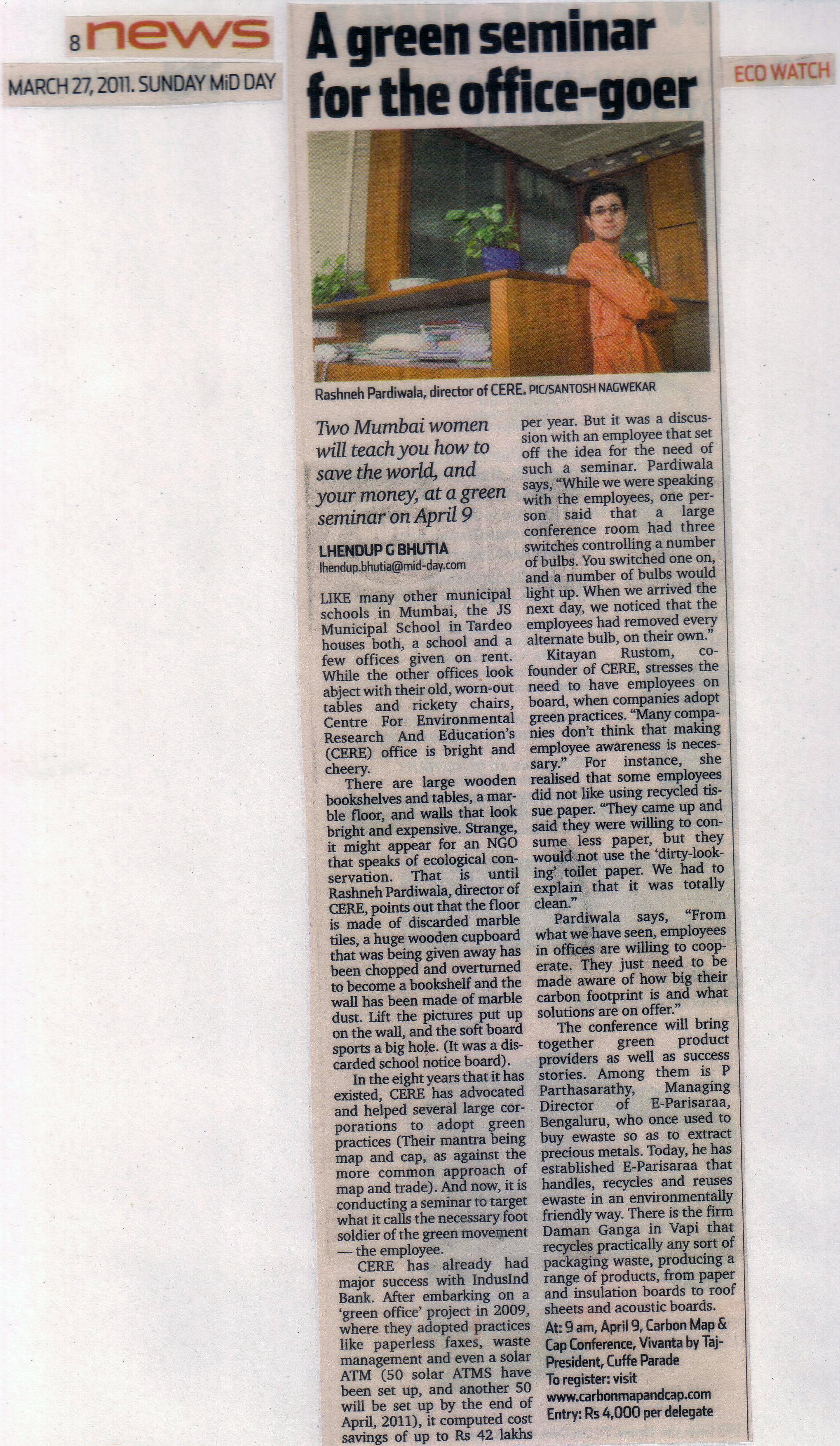 Mid-Day - 27th March, 2011