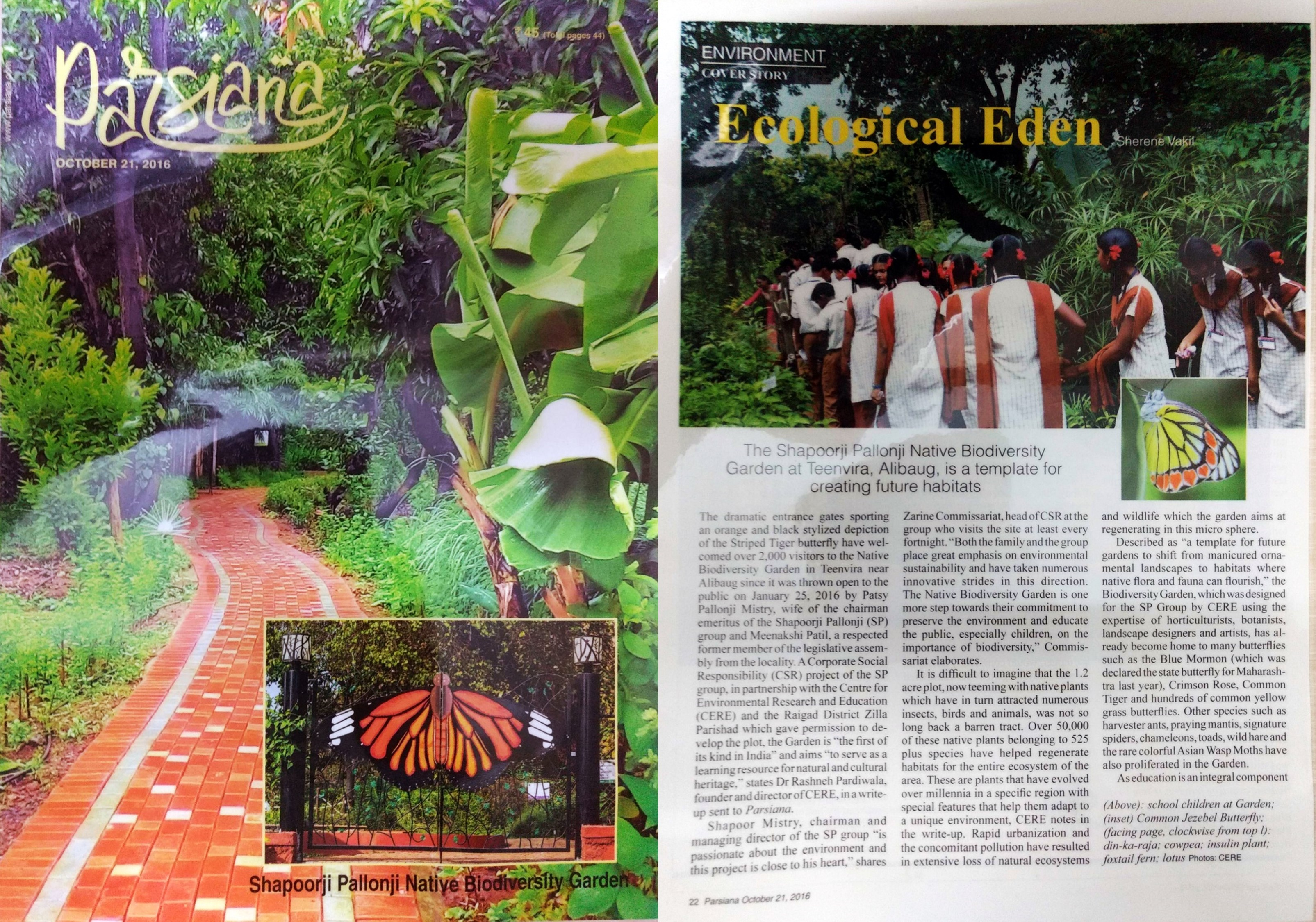 Parsiana - 21st October, 2016 (pages 1 and 2)
